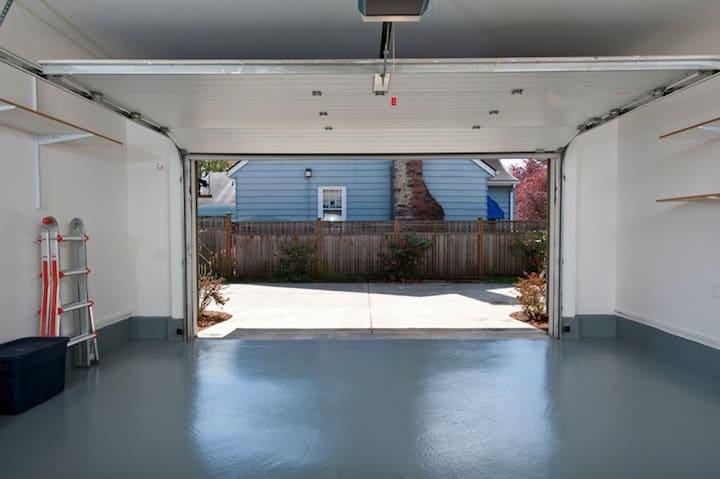Betonvloeren worden vaak gebruikt in garages