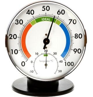 Hygrometer - Luchtvochtigheidsmeter