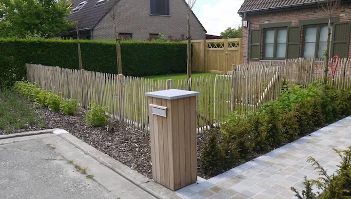 Kastanje tuinafsluiting mogelijkheden voordelen en prijzen for Moderne afsluiting tuin