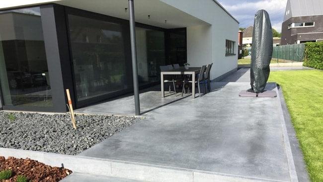 Voordelen van een Polybeton terras